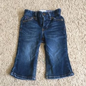 Baby GAP Boot Cut Jeans, size 6-12 months